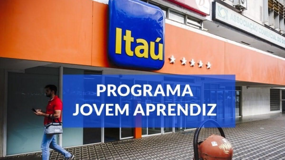 JOVEM APRENDIZ ITAÚ 2021 -> Passo a Passo para Inscrição Online