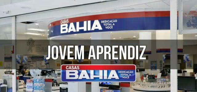 JOVEM APRENDIZ CASAS BAHIA – Inscrição 100% Online